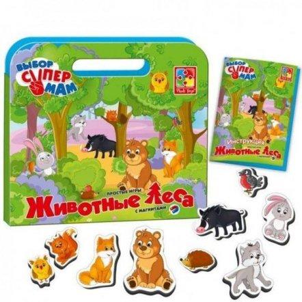 Простые игры с магнитами Животные леса VT3104-03