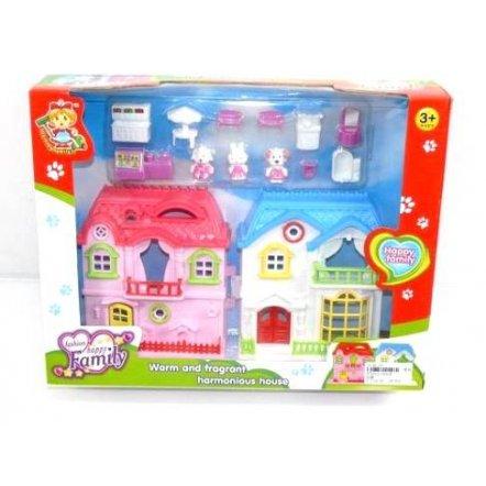 """Кукольный домик  """"Happy family"""" 32538"""