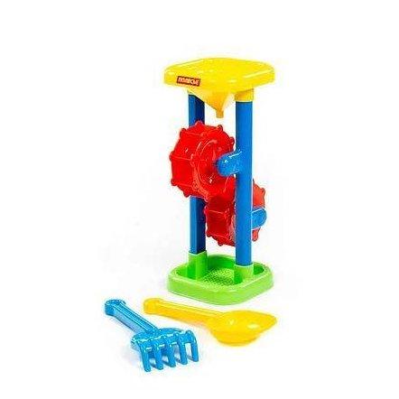 Мельница для песка и воды + совок и грабли набор №281 35097 Полесье Беларусь
