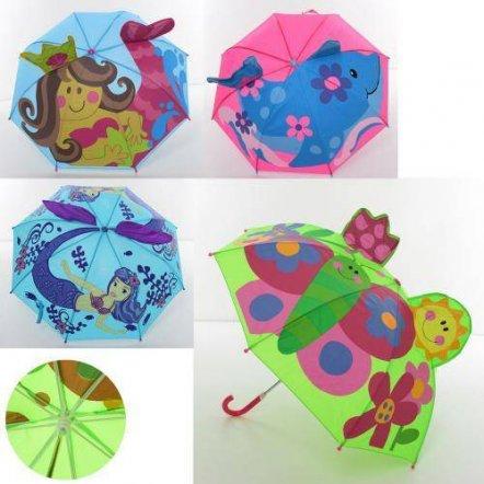Зонтик детский с ушками дельфин и русалка 3616 купить в ...