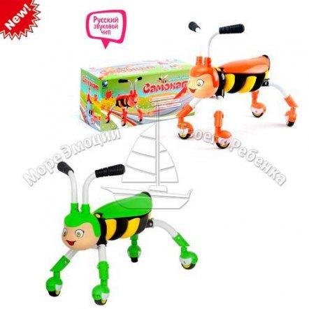 """Толокар-самокат """"Пчелка на колесах"""" 1041714 R/368"""