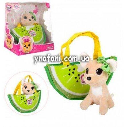 Собачка Кикки в сумке киви M 3697