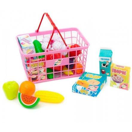 Корзина с продуктами и овощами Супермаркет 379 в 5 Орион