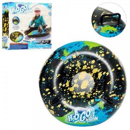 Надувные сани тюбинг Ватрушка Go Snow с 2 ручками 39004 Bestway