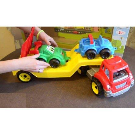 Машина Автовоз з набором Гоночных машинок 3909 ТехноК