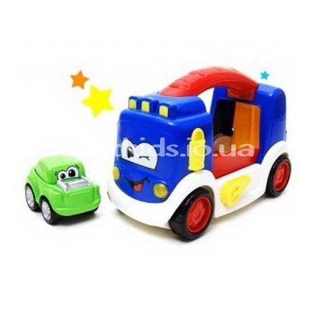 Трейлер с машинкой автовоз 2 в 1 25469 Redbox