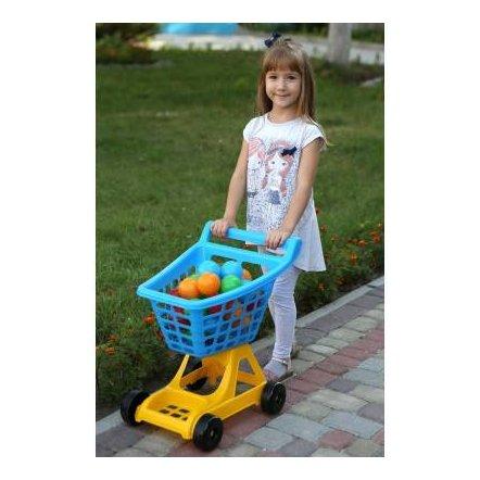 Детская тележка для магазина 4227 Технок БОЛЬШАЯ