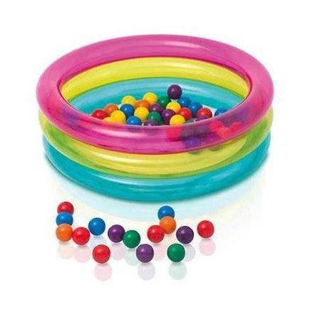 Надувной игровой центр с шариками 48674 Intex