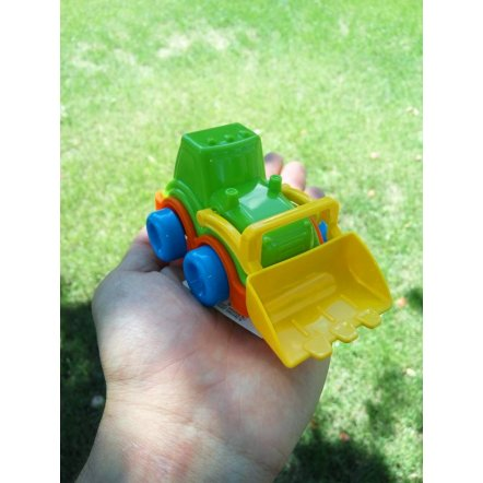 Машина мини пластиковая Трактор с ковшом  5200 ТехноК