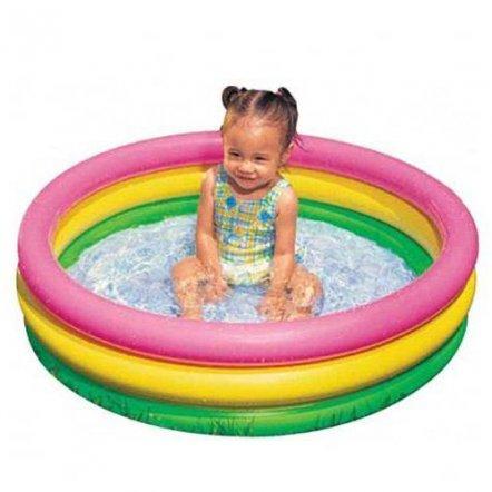 """Бассейн детский надувной """"Без хлопот"""" 57402 Intex маленький . Второй со скидкой 50 %"""