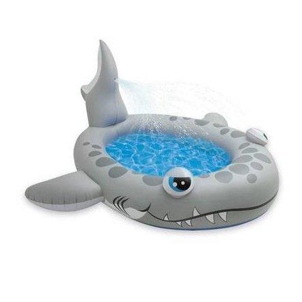 Бассейн детский Акула надувной Intex 57433