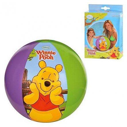 Мяч для бассейна разноцветный надувной Дисней 51 см 58025/58046