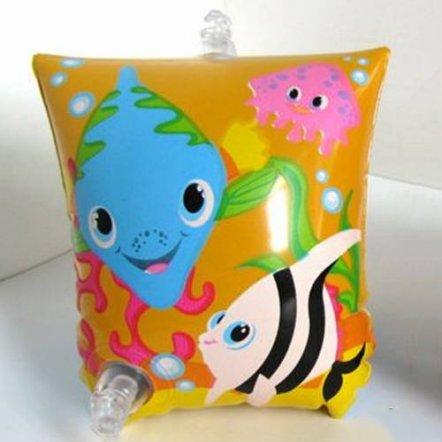 Детский надувной нарукавник для плавания Intex 58652  с рыбками