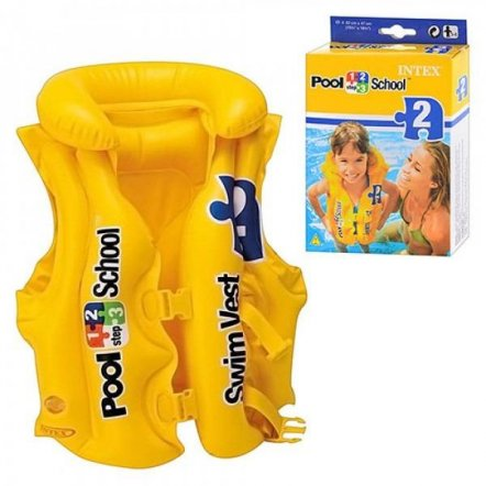 Жилет надувной для плавания Intex 58660