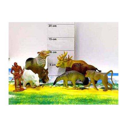 Дикие животные резиновые А 590