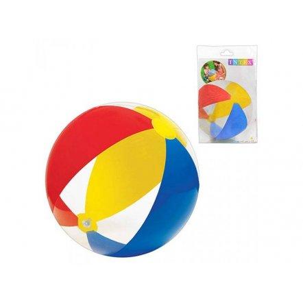 Мяч для бассейна разноцветный 61 см 59032 Intex
