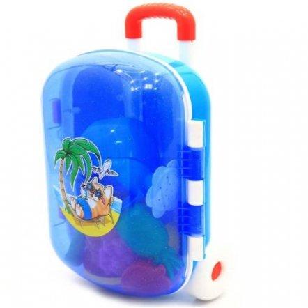 Чемодан-игрушка детский с песочным набором 6009 Технок
