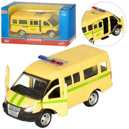 Металлический детский автомобиль Газель 6404