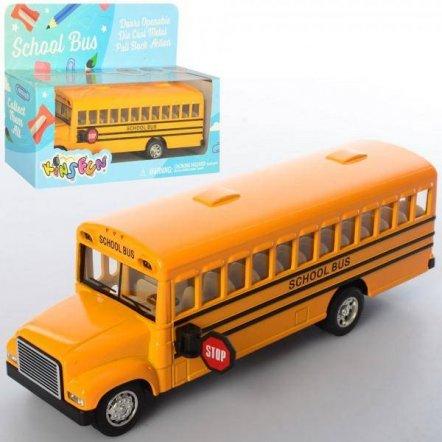 Автобус металлический инерционный KS 6501 W KINSMART