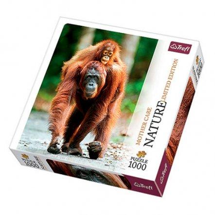 Пазлы на 1000 детеалей Орангутан 10514 Трефл