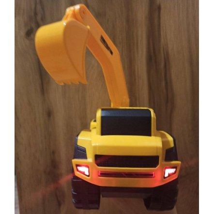 Машинка стройтехника Кран или Экскаватор с музыкой и светом A6677-3-4