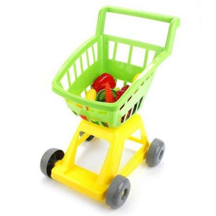 Детская тележка Супермаркет с овощами 693 в.3 Орион