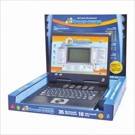 Ноутбук детский развивающий компьютер Мультибук 7004 Joy Toy