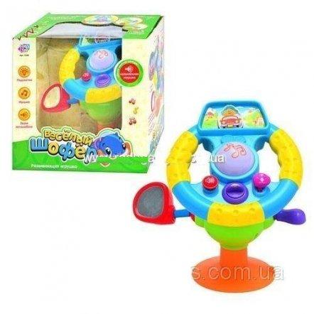 """Автотренажер """"Веселый шофер"""" на большой присоске 7298/916 Joy Toy"""