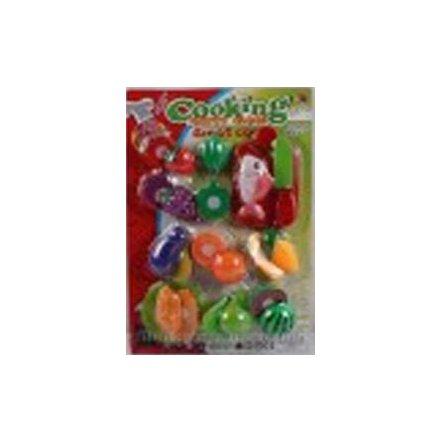 Овощи, фрукты нарезка на планшете HY780-1