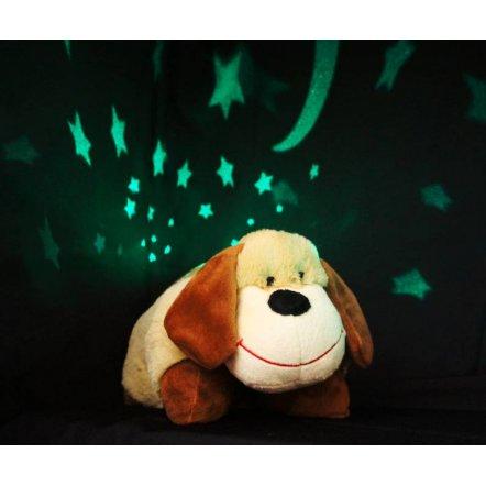 Ночник-проектор неба музыкальный плюшевый с 3-мя колыбельными BY 8016 R - обезьянка, собака, тигр, единорог, жираф
