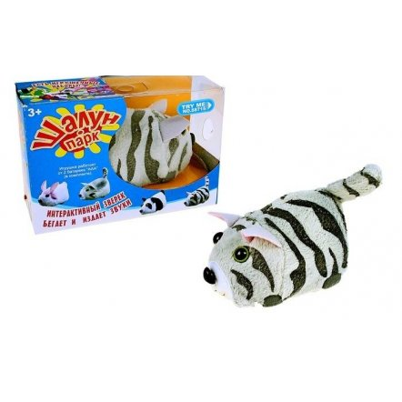 Интерактивный зверек Шалун парк 88710-88715 6 видов