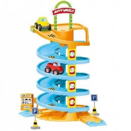 Конструктор  гараж Спиральное шоссе 38 деталей 892 Орион