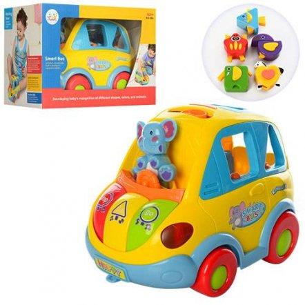 Автошка музыкальная машинка сортер 9198 Joy Toy