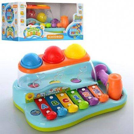"Ксилофон-стучалка ""Бряк-звяк"" 9199 Joy Toy"