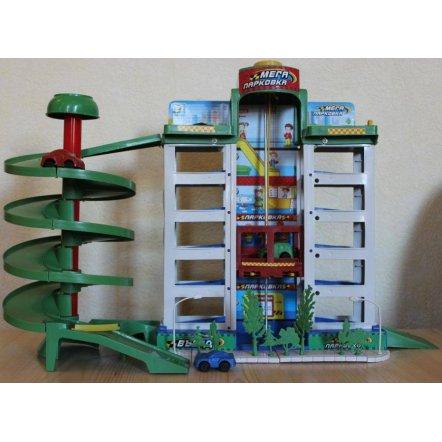 Гараж-паркинг 6-этажный с 4-мя машинками и лифтом 922 Metr+