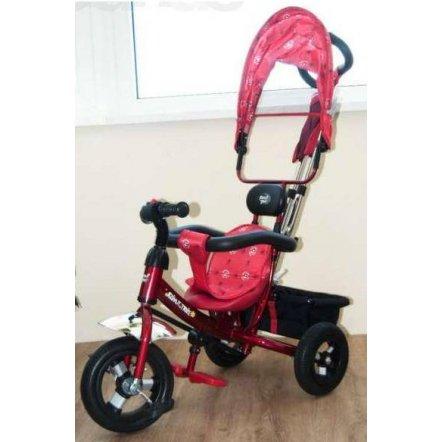 Велосипед Azimut Trike Air с надувными колесами BC-17B красный