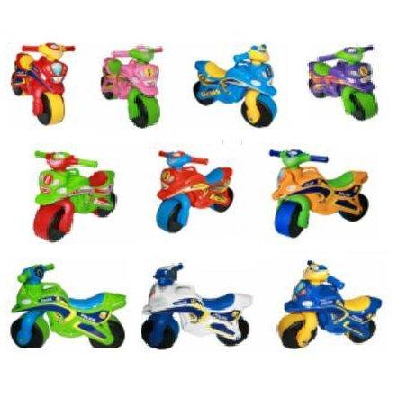Мотоцикл  каталка музыкальный с подсветкой Байк Фламинго 0139 ТМ Долони