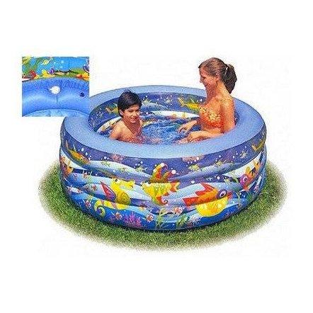 """Бассейн детский надувной  """"На дне океана"""" 58480 Intex"""