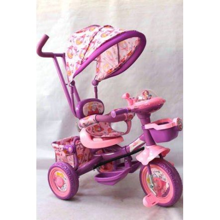 "Велосипед  Panda BC-16 S ""Baby Club""  ""Принцесса"" розово-сиреневый"