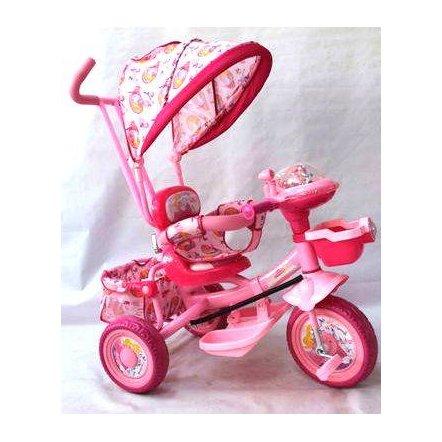 "Велосипед  Panda BC-16 S ""Baby Club"" ""Принцесса"" розовый"