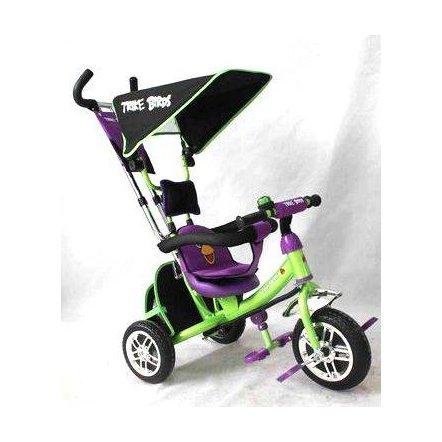 """Велосипед LEXUS TRIKE BIRDS трехколесный BC-15 AB """"Baby clab"""" зелено-фиолетовый"""