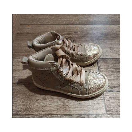 Уценка. Б.у. Ботинки с лентами 33 размер Китай