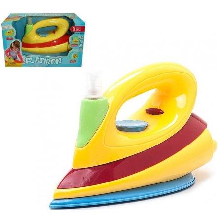 Утюг для детей игрушечный со световыми и звуковыми эффектами 08010