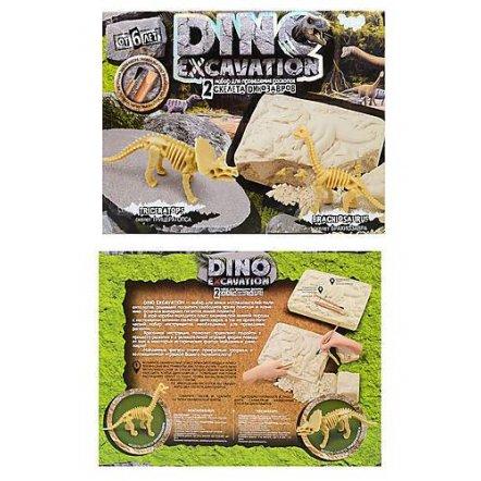 Набор для проведения раскопок DINO EXCAVATION динозавры DEX-01-04-05-06