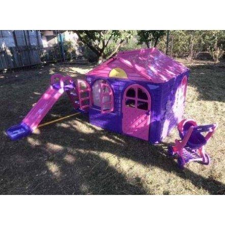 Домик для девочек Долони 02550 фиолетово-розовый ТМ Долони