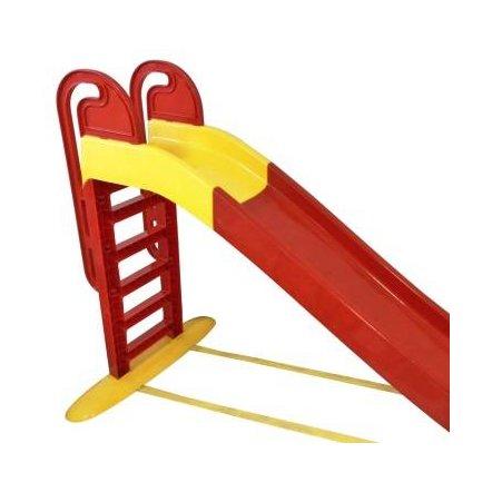 Горка для детей для дома с водой большая желто-красная 014550/3 ТМ Долони