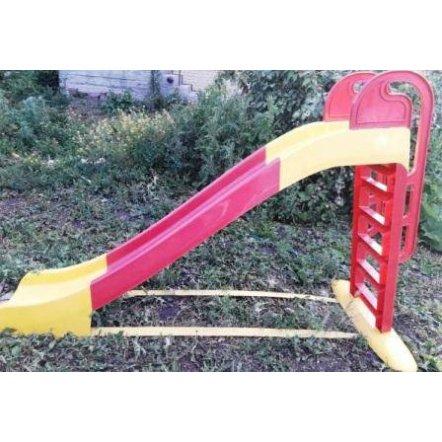 Горка для детей для дома большая желто-красная 014550/3 ТМ Долони