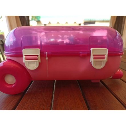 Игрушка Чемодан для путешествий розовый  7037 Технок