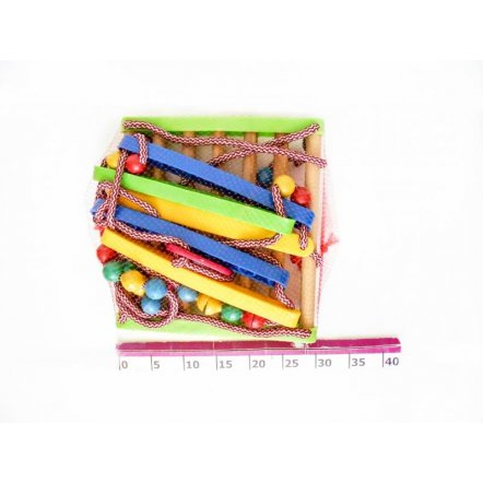 Качели деревянные подвесные детские Дерево+пластмасса ВИФ