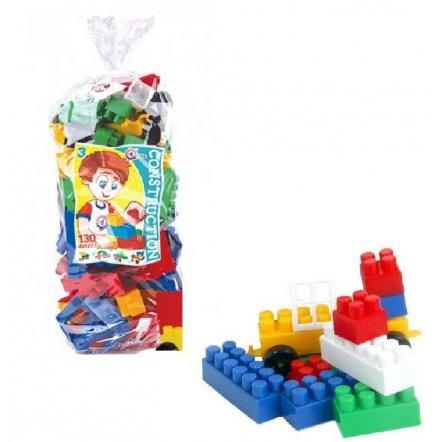 Конструктор пластиковый Техно 3 130 элементов 0519 Технок
